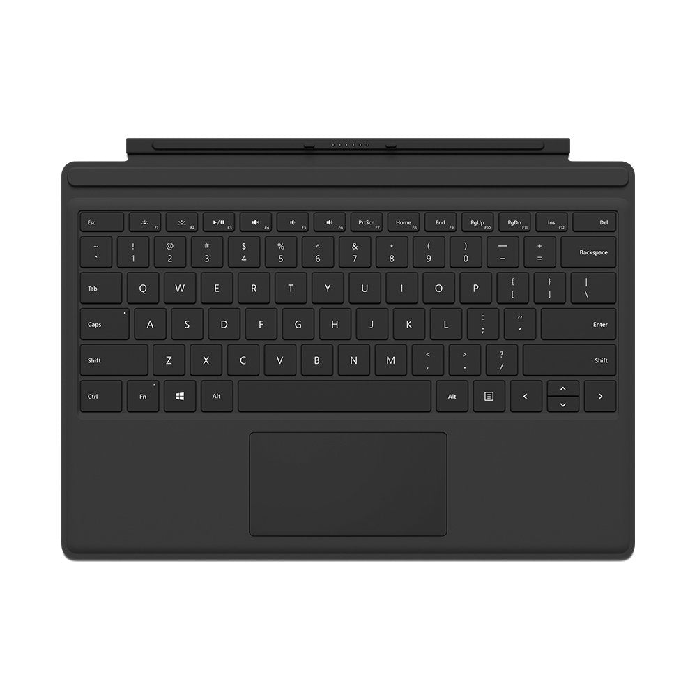 Microsoft Surface Pro 4 Type Cover Black - BlueProton