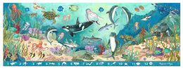 Melissa & Doug Search and Find Beneath the Waves Floor Puzzle (48 pcs, over 4 feet long)