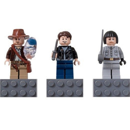 Lego Indiana Jones Magnets Set of 3 : Indiana Jones, Mutt Williams, irina Spalko