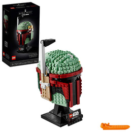 LEGO Star Wars Boba Fett Helmet 75277 Building Kit, New 2020 (625 Pieces)