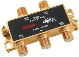 RCA DT4SP 4 WAY DIGITAL SPLITTER