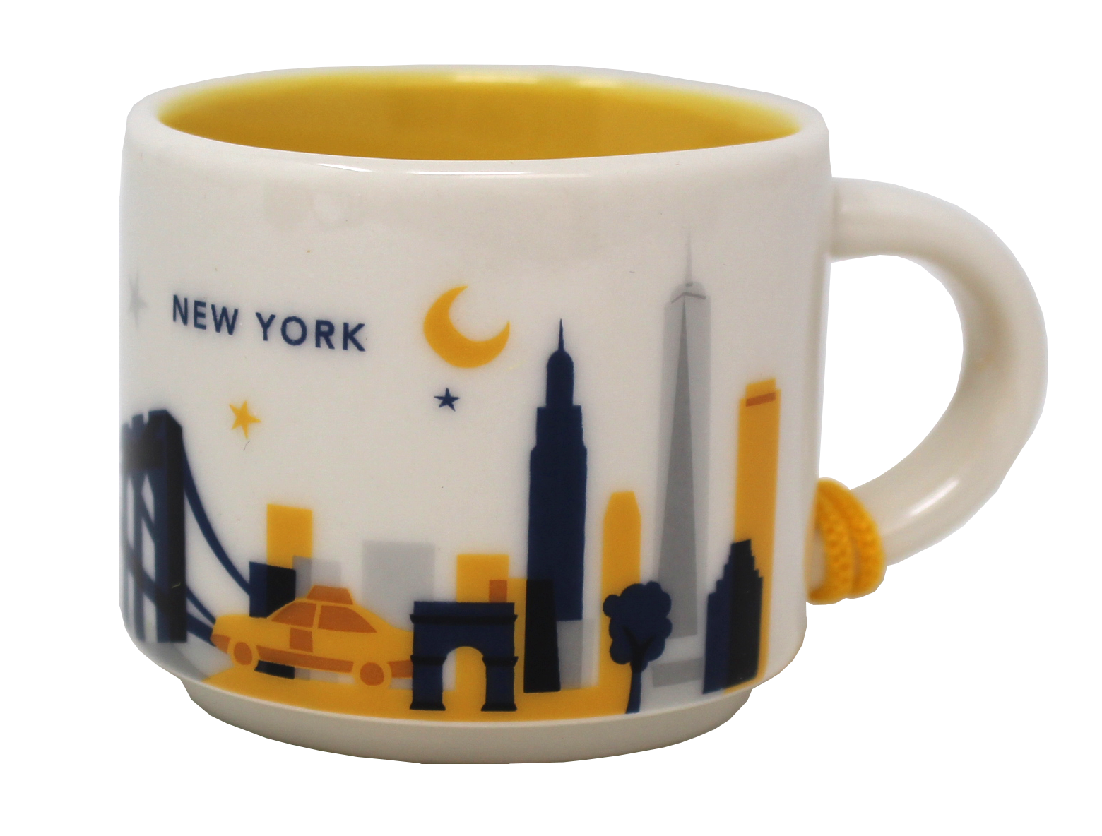 Starbucks You Are Here Series New York Ceramic Demitasse Ornament Mug, 2 Oz