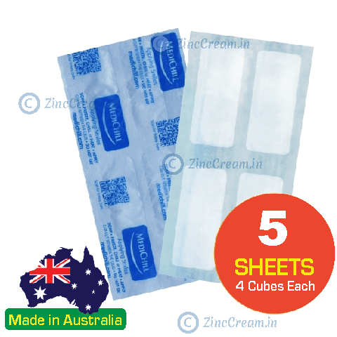 Medichill COOL N HOT PADS (PACK OF 5) Re-useable, Reliable