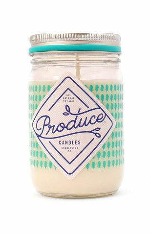 Kale Produce Candle