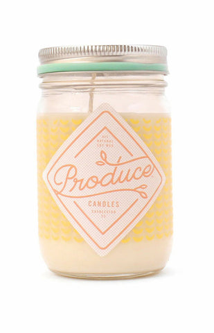 Melon Produce Candle
