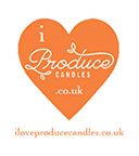 I Love Produce Candles