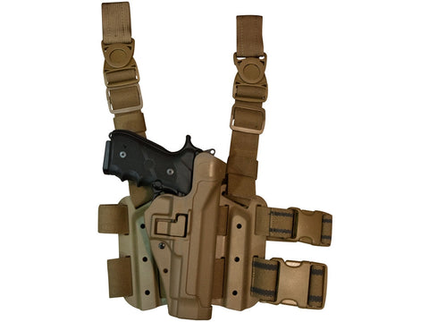 BLACKHAWK Serpa TAC B92 USMC Kit (Right Hand) - Coyote Tan