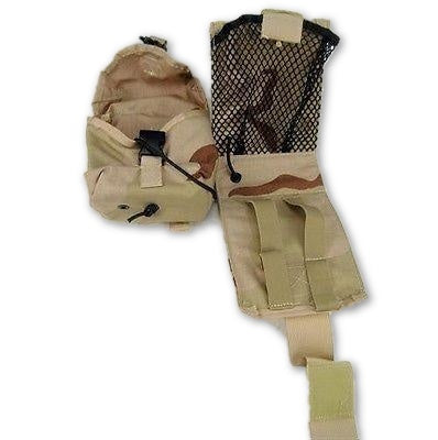 Military MOLLE IFAK Carrier Utility Pouch & Folding Insert Combo DCU Camo
