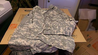 Militar Army Coats Shirts Digital Camo Uniform Medium Long  NSN 8415-01-519-8512
