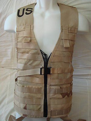 MOLLE II Fighting Load Carrier FLC Vest Desert Camo New