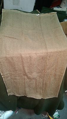 US MILITARY Brown Bath Towel 100% Cotton Terry Towel 20 x 40