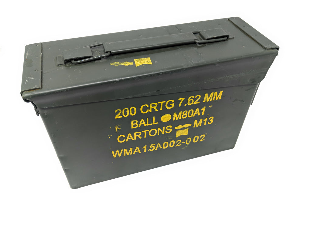 US Military 30 Cal Ammo Can M19A1 7.62mm Olive Drab