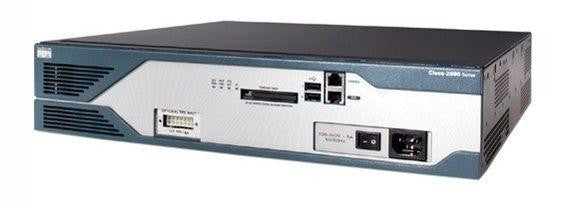Cisco 2821 C2821-VSEC-CCME/K9 CCX-50-CME-Bundle Voice+Security PoE
