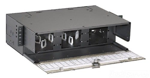 Panduit FRME3 Fiber Rack Mount Enclosure with 108-Fiber Capacity