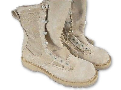ROCKY U.S. ARMY Temperate Weather desert combat boots MENS sz 15.5 R New