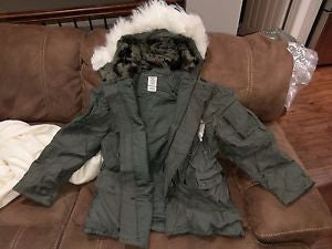 New Made in USA Military ECW Extreme Cold Weather N-3B Snorkel Parka Army Jacket GI
