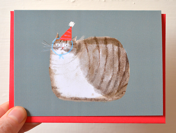 Bday Loaf - Mini Card