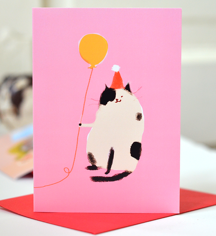 Happy Bday Pink - Mini Card
