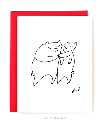The Bear Hug Card