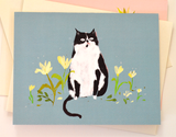 Country Cat Card