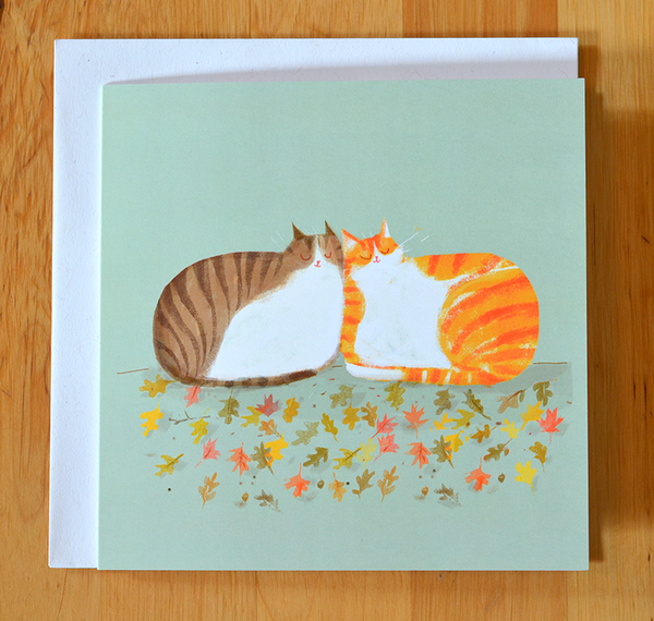 Fall Friends - Square Card