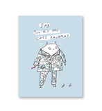 Dad You're the Cat's Pajamas Card