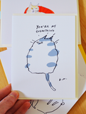 You're my everything - Cat Card - Love Card