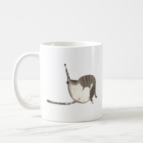 Gut Wash cat Mug