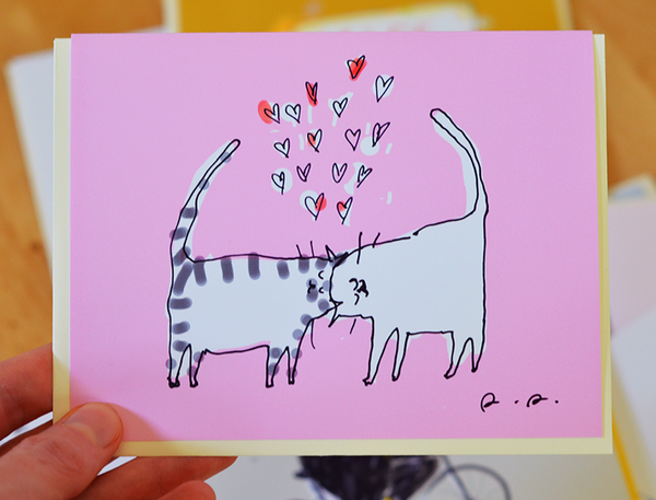 Headbutt Love Card