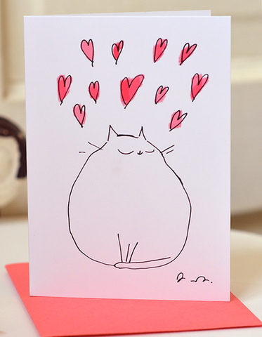 Lotsa Love - Mini Cat Card