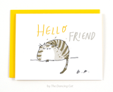 Hello Friend - Thinking of You Card