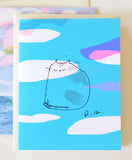 Kiki- Head in the Clouds Card