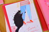 Love Bites- Cat Card