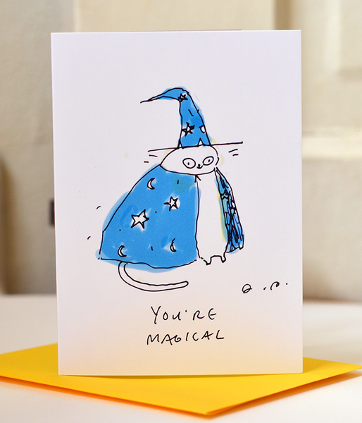 You're Magical - Mini Card