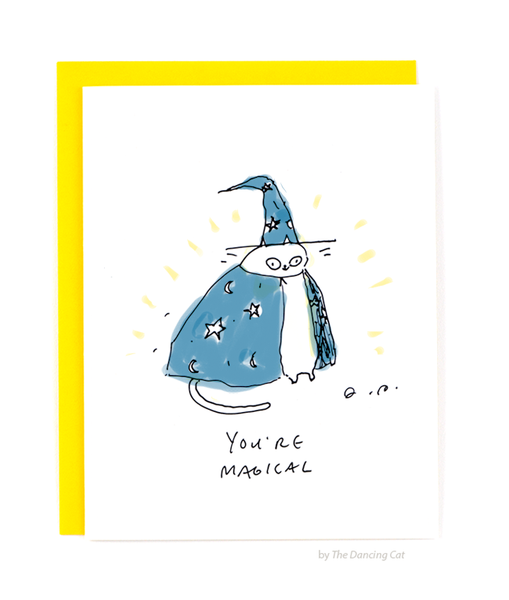 You're Magical Cat Card