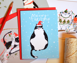 Tuxedo Cat Lover Christmas Set - Mixed Set of 5