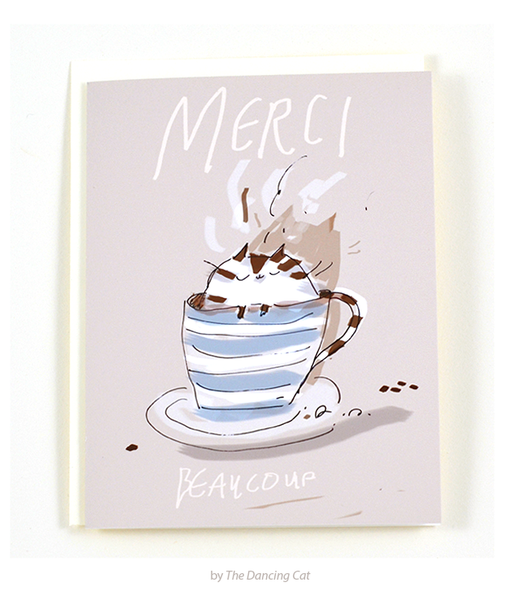 Merci Beaucoup - Thank You Card