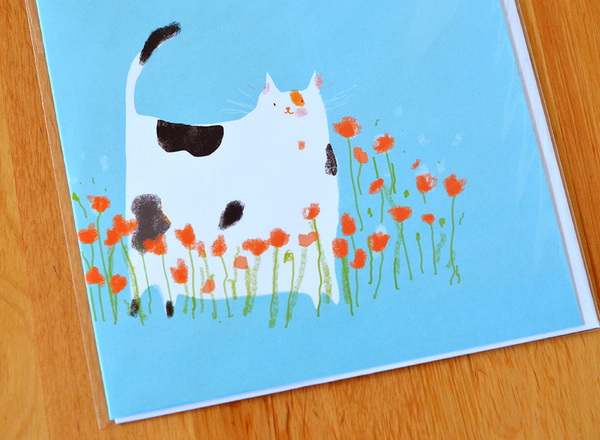 Mother's Day Cat Card- LARGE