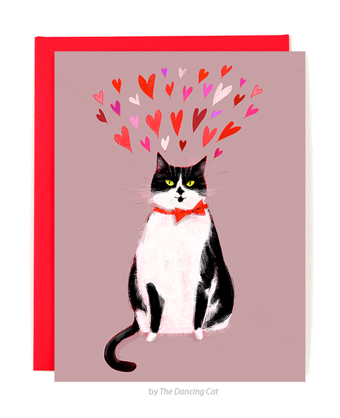 Sending You Love- Cat Card