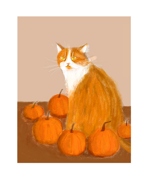 The Best Pumpkin in the Patch - Fine Art Print