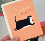 You're Purrfect Cat Card