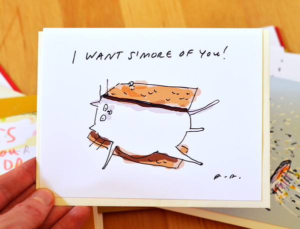 I Want S'more of You Card