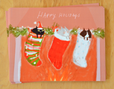 Stocking Stuffers- Christmas Cat Postcards