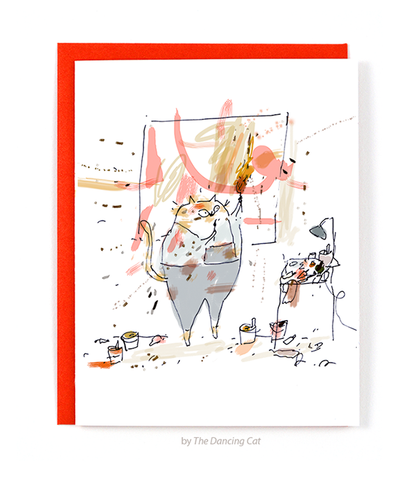 Studio Cat Cards - Art Cards