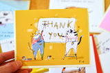 Thank You Card - Sign Painters