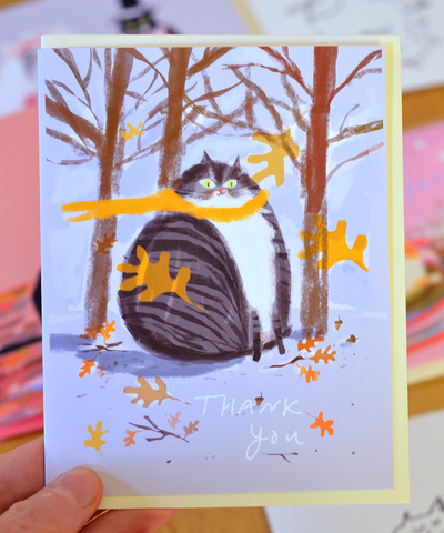 Thank You Card- Fall