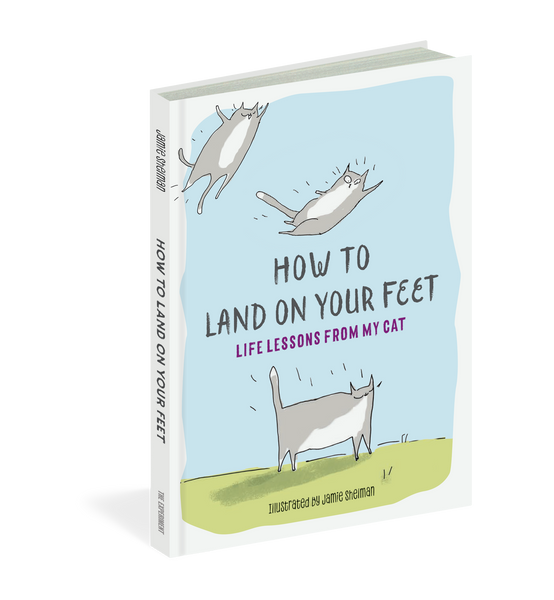 How to Land on Your Feet- Life Lessons From My Cat- US Edition