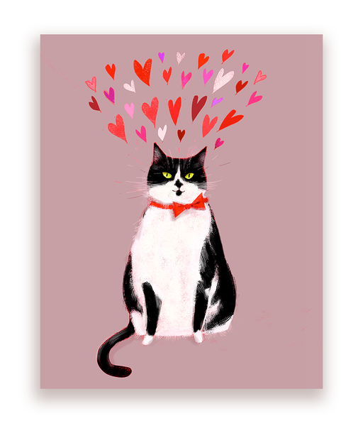 Cat Valentine Postcards - Set of 12
