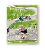 L'Alpe D'Huez Cycling Card - Tour de France - Bike Cat