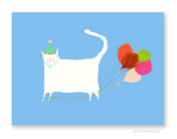 Birthday Balloons - Bunch of Balloons Card